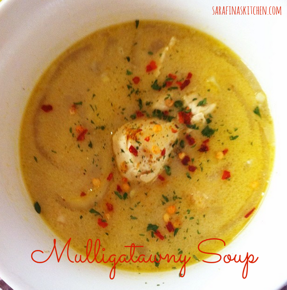 Mulligatawny Soup|Sarafina's Kitchen