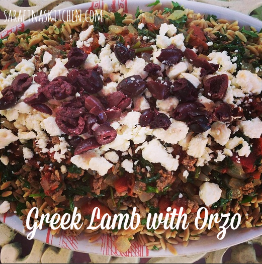 Greek Lamb with Orzo | Sarafina's Kitchen