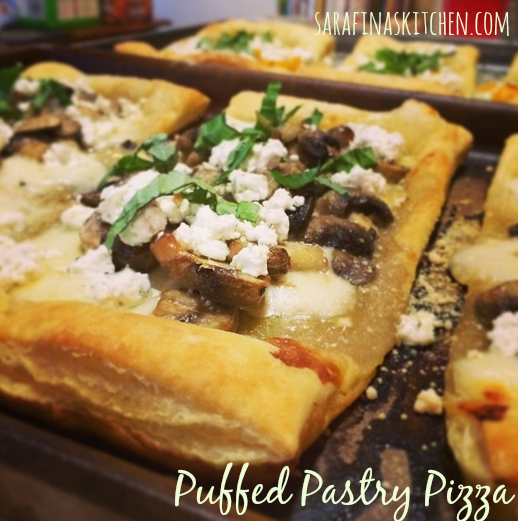 Puffed Pastry Pizza | Sarafina's Kitchen