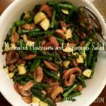 Marinated Mushrooms and Asparagus Salad   Sarafina's Kitchen