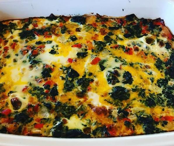 Sarafina's Kitchen | Make Ahead Tater Tot Breakfast Casserole
